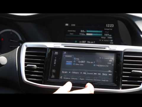 How To set the radio presets in 2016 Honda Accord tutorial