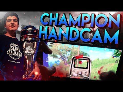 PMSC EUROPE CHAMPION! (HANDCAM GAMEPLAY) | PUBG Mobile - Handycam 3 Fingers Claw