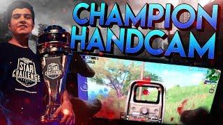 PMSC EUROPE CHAMPION! (HANDCAM GAMEPLAY)   PUBG Mobile - Handycam 3 Fingers Claw