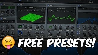 FREE xFer Serum Bass House Presets & Drums! ☠