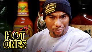 Download Charlamagne Tha God Gets Heated Eating Spicy Wings | Hot Ones Mp3 and Videos