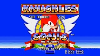 Knuckles in Sonic the Hedgehog 2 - Full Playthrough