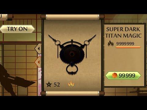 Shadow Fight 2 The Most Powerful Dark Titan Magic