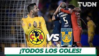¡Todos los goles  del América vs Tigres! | Cuartos de final | TUDN