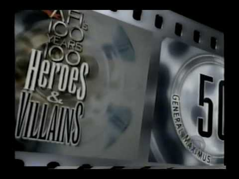 AFI 100 Years 100 Heroes & Villains