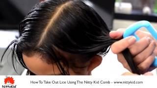How Get Rid Lice Children Long Hair
