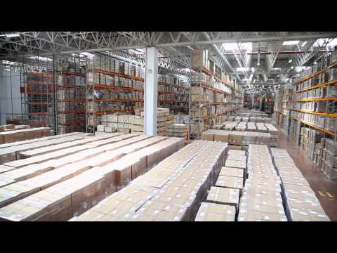 OMSAN Logistics Warehouse and Distribution Operations Movie