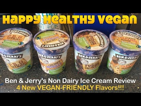 Ben & Jerry's Non Dairy Ice Cream Review: 4 Flavors