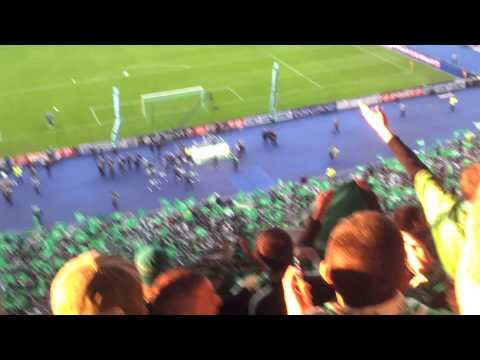 CHANT ALLEZ LES VERTS FINALE COUPE DE LA LIGUE 2013