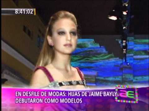 Hijas De Bayly Modelan Youtube Las hijas de jaime bayly reaccionaron ante la polémica columna que su padre escribió ayer en el diario peru21. hijas de bayly modelan