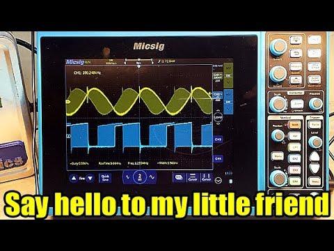 Quick Look: Micsig STO1104c 4 Channel 100MHz Oscilloscope