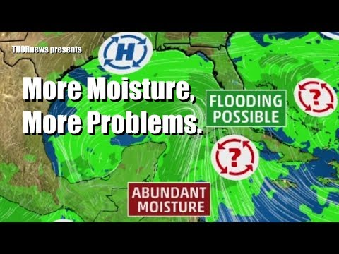 Florida & Gulf of Mexico on Hurricane & Tropical Gyre Alert + SNOW in West Heat in East