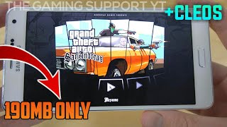 Gambar cover [190MB]How To Download Gta SA Lite For All Android All GPU |THE GAMING SUPPORT
