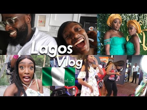 LAGOS 2017 VLOG PART 3 | WE FINALLY HAVE CLOTHES! THE SCARIEST WALK & WEDDING TIME!