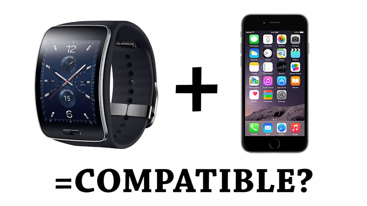 Use Samsung Gear S with iPhone 6 Plus or ANY other Non Samsung Smartphone