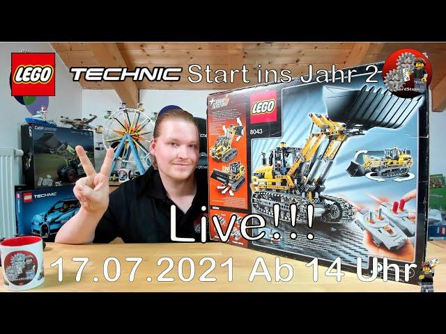 LIVE mit Freunden bauen und spaß haben   Mit Lego® Technic 8043 ins Jahr 2
