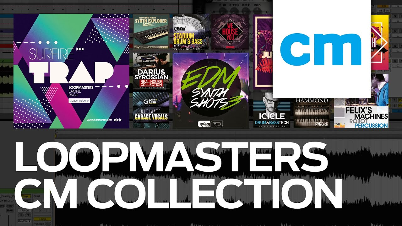 Build a track with Loopmasters samples - YouTube