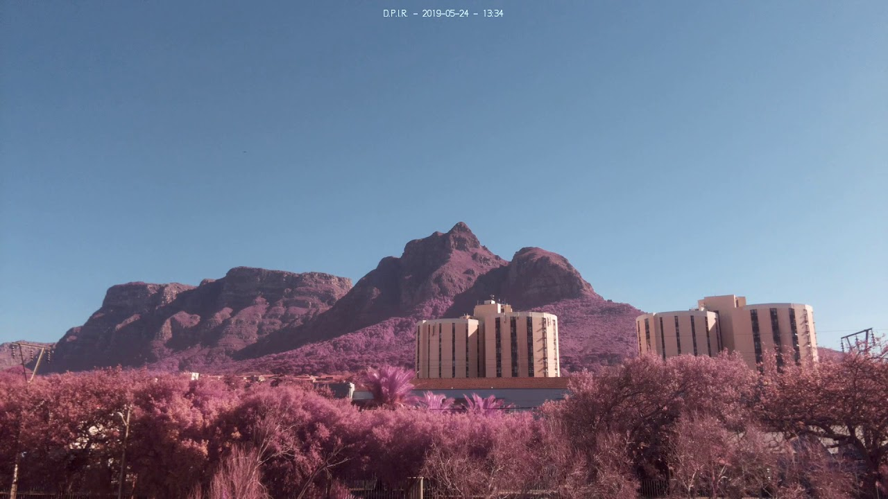 Devil's Peak: Sunrise To Sunset Time-lapse, On 2019-05-24