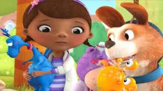 Клиника Доктора Плюшевой лечим Игрушки Крабика и Динозавра детский Игровой мульт