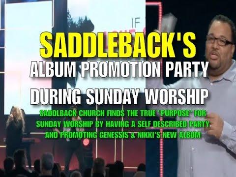 Saddleback's Album Promotion Party During Sunday Worship