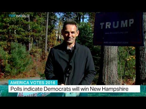 America Votes 2016: Polls indicate Democrats will win New Hampshire