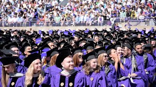 Recapping Northwestern University 2016 Commencement