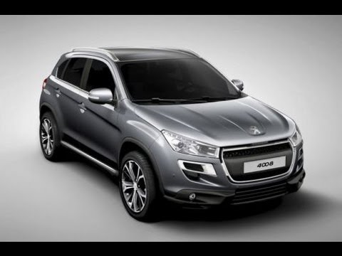 new crossover 2013 peugeot 4008 revealed youtube. Black Bedroom Furniture Sets. Home Design Ideas