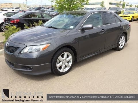Pre Owned Grey On Black 2007 Toyota Camry Se Leduc