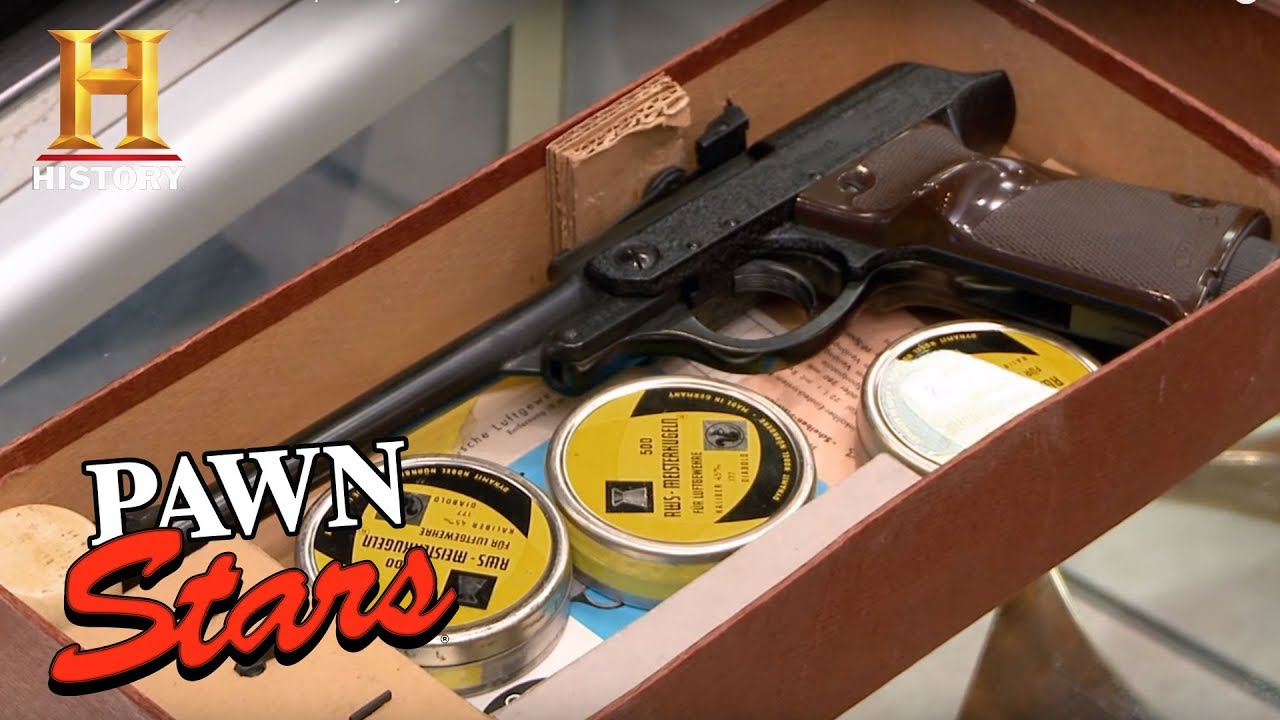 Pawn Stars: Walther LP53 Air Pistol | History