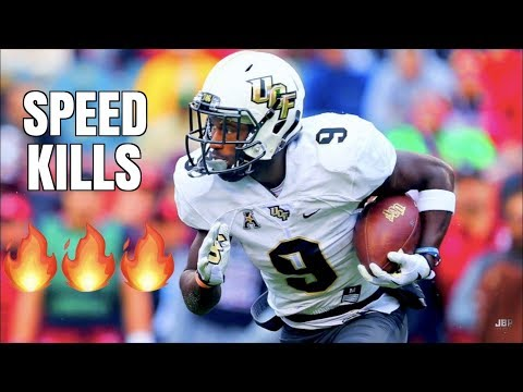 Fastest Player in College Football 🔥 || UCF RB Adrian Killins Highlights [2016-18] ᴴᴰ