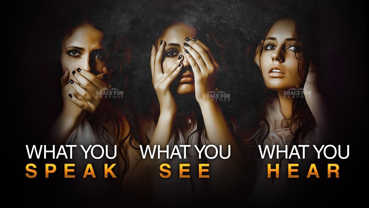 Be Careful What You SAY   SEE   HEAR - When You Face Opposition! ᴴᴰ