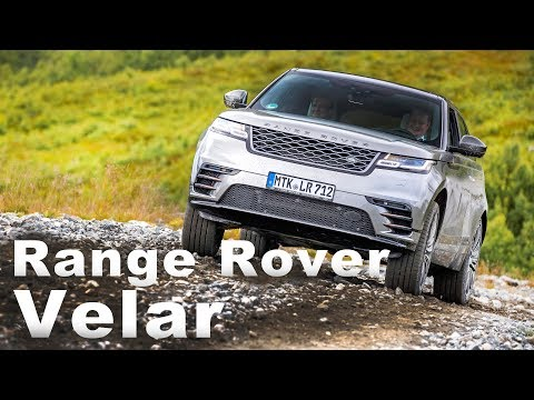 越野血脈 融合美型跑旅風 Land Rover Range Rover Velar