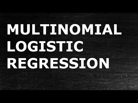 Multinomial Logistic Regression | Ordered Logistic Regression
