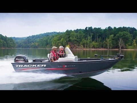 Tracker boats 2018 pro guide v 16 sc deep v fishing boat for Tracker fishing boats