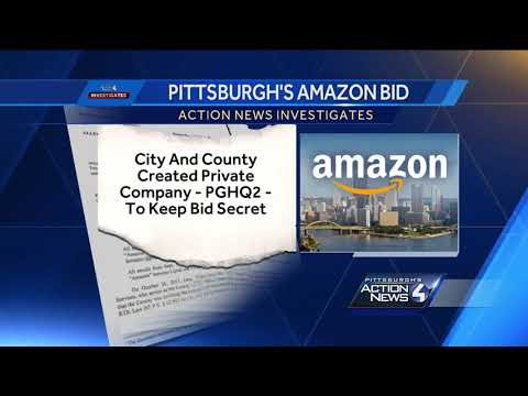 Pittsburgh, Allegheny County reveal reasons for keeping Amazon HQ2 bid secret