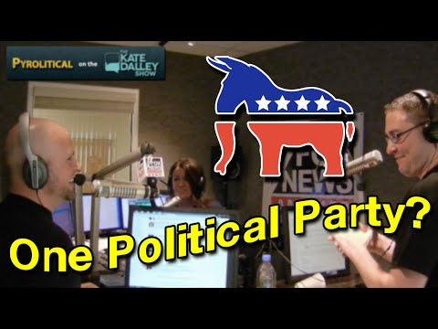 There's Really Only One U.S. Political Party?!!! | Kate Dalley Show
