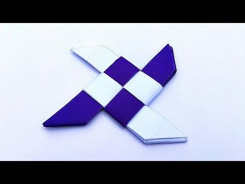 Paper Ninja Star Boomerang || Amazing Paper Toy || DIY