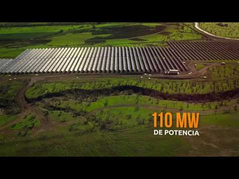 Solar Plant located in Quilapilun, Chile
