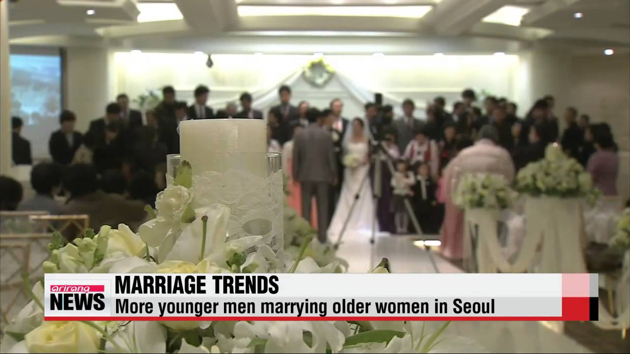 More Younger Men Marrying Older Women In Seoul - Youtube-5902