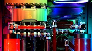 Vibox Overkill - PC Porn - £16,000 RGB Gaming PC - Insane Watercooled Computer