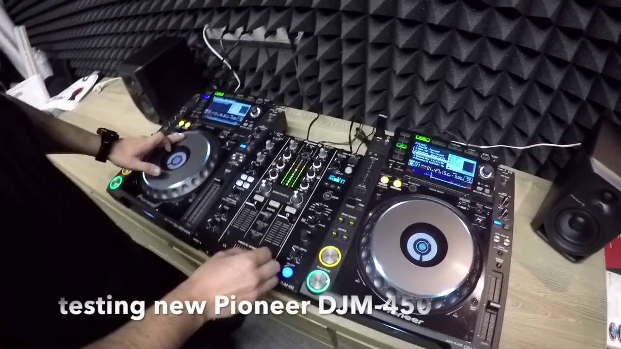 pioneer serato djm-450
