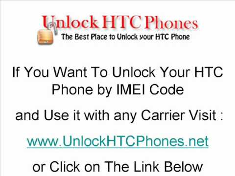 How To Unlock Your HTC Phone (S730,S740,Shift,Snap,Tattoo,Tilt 2,Touch,TyTN II,Wildfire)