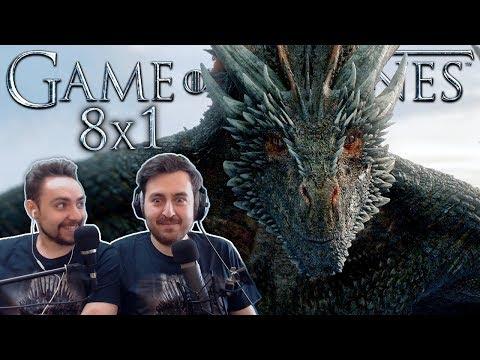 Game of Thrones Season 8 Episode 1 REACTION 'Winterfell'