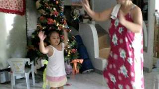 "2 yr-old child dances ""evermore"" by hillsong"