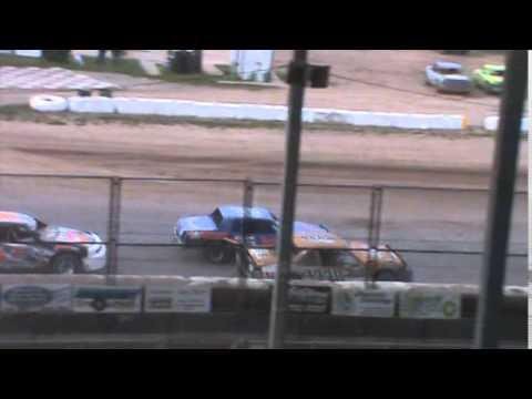 IMCA Stockcar B Main 2 Seymour Speedway 5/31/15