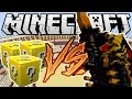 J'AFFRONTE UN MONSTRE GIGANTESQUE ! LUCKY BLOCK CHALLENGE MINECRAFT