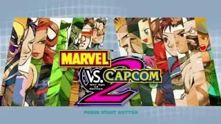 Marvel Vs  Capcom 2 PS3 Gameplay