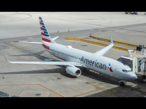 Vuelo Cancún - Miami American Airlines Boeing  737-800