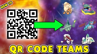HOW TO CREATE AND USE QR RENTAL TEAMS IN POKEMON SUN AND MOON! QR Rental Team Guide