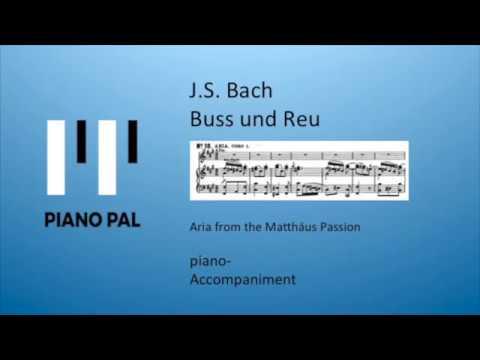 J.S. Bach Buss und Reu Matthäus Passion Accompaniment by Pianopal
